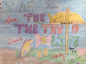 Colored Prayer 9-23-15